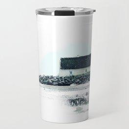Beach Cottage Travel Mug