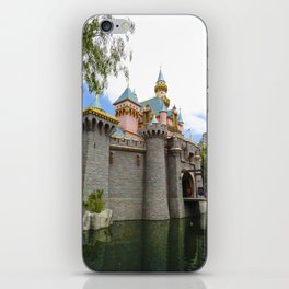 Sleeping Beauty's Castle (Daytime, no.1) iPhone Skin