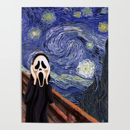 Scream Scary movie Poster