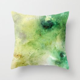 Abstract Galaxies Throw Pillow