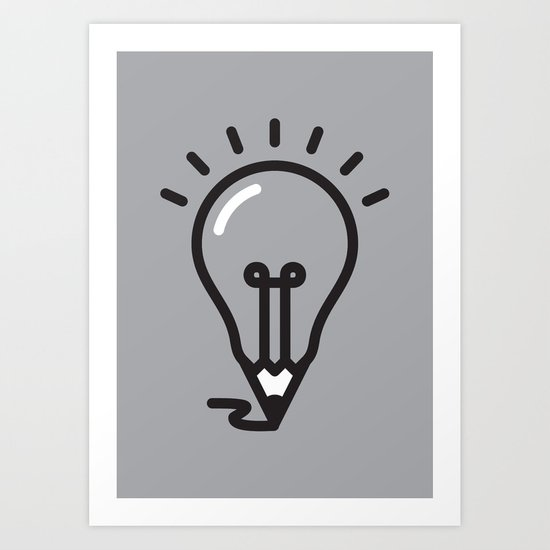 Great ideas Art Print