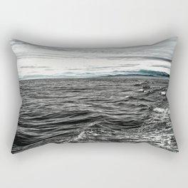 Sea of Tar Rectangular Pillow