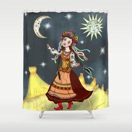 Slavic Rhapsody Shower Curtain
