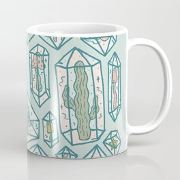 Crystals and Plants Coffee Mug