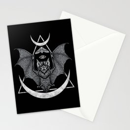 Occult Bat Stationery Cards