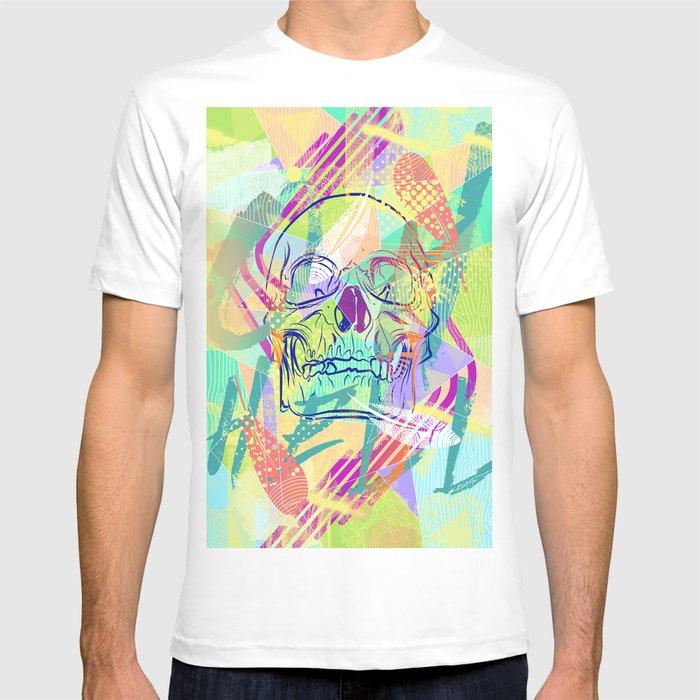 Oh Hell Sherbert Skull T-shirt