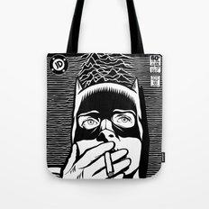 Post-Punk Bat Black & White Tote Bag