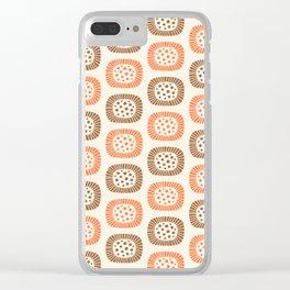 Atomic Sunburst 7 Clear iPhone Case