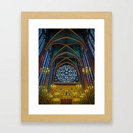 Ste Chapelle Framed Art Print