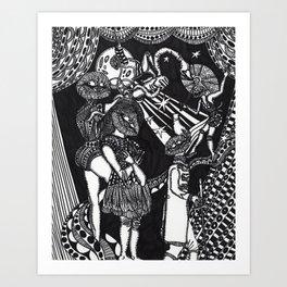 The Recalcitrant Art Print