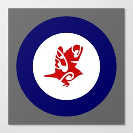Silvereye Air Force Roundel Canvas Print