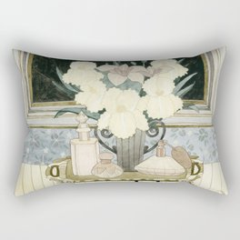 Perfumer at work Rectangular Pillow