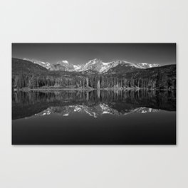 Sprague Lake Reflections Canvas Print