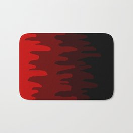 Splash of colour (red) Bath Mat