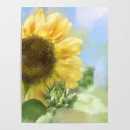 Sunny Sunflower Poster