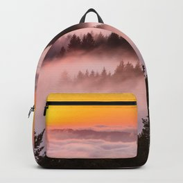 Bolinas Ridge Foggy Sunset Backpack