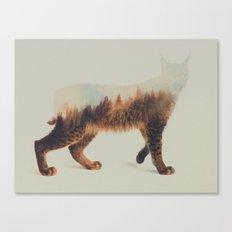 Norwegian Woods: The Lynx Canvas Print