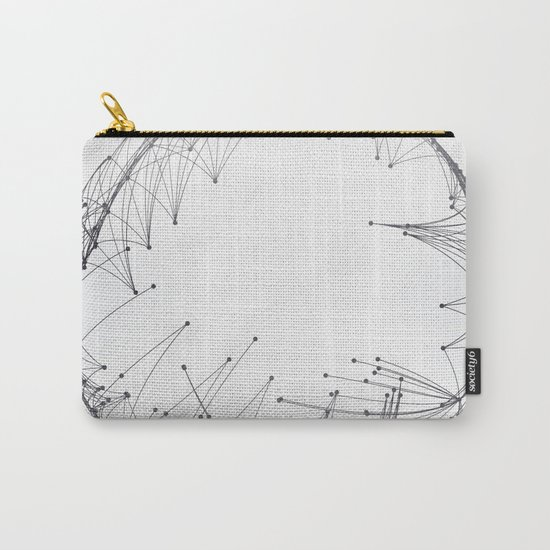 Minimal Geometric Circle Carry-All Pouch