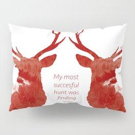 Valentine Stags Pillow Sham