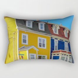 Jellybean Row Rectangular Pillow