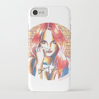 britney spears iPhone & iPod Cases featuring Britney Spears' Britney Jean Album by Eduardo Sanches Morelli