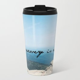 recovery is real Travel Mug