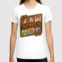 ezra koenig T-shirts featuring Rebel 4: Ezra Bridger by Szoki