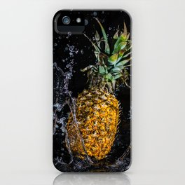 A splash of pineapple iPhone Case