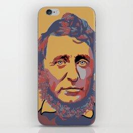 Henry David Thoreau iPhone Skin