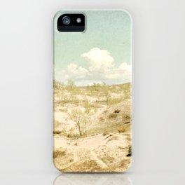 The Beginning Sleeping Bear Sand Dunes iPhone Case
