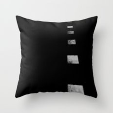 Minimalist Shadows Throw Pillow