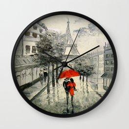 Paris Paris Wall Clock