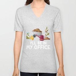 I'll Be In My Office Unisex V-Neck
