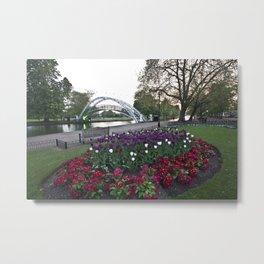 Bedford in Bloom Metal Print