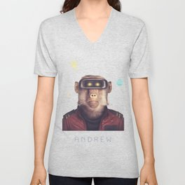 Star Team - Andrew Unisex V-Neck