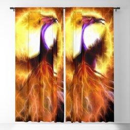 Phoenix Bird Blackout Curtain