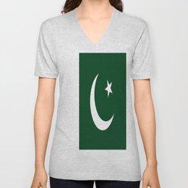 Flag of Pakistan Unisex V-Neck