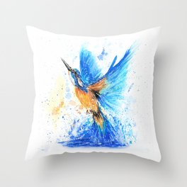 Between Water And Air Throw Pillow