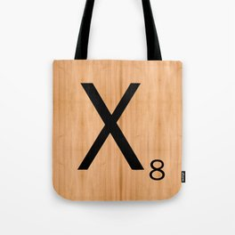 Scrabble Letter Tile - X Tote Bag