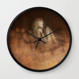 Flower Blanket Wall Clock