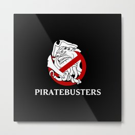 Piratebusters Metal Print