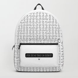 Elefante. Backpack