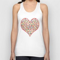 dot Tank Tops featuring Dot... by DesignsByMarly
