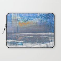 Blue Color Patches Laptop Sleeve