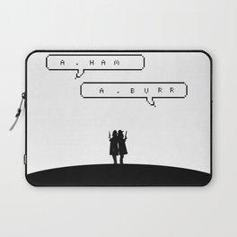 Hamilton vs Burr Laptop Sleeve