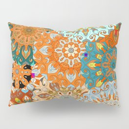 Boho Mandela Pattern 1 Pillow Sham