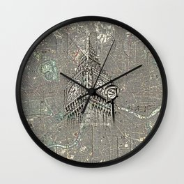 On London Time Wall Clock