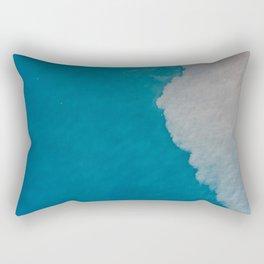 Ocean Wave Aerial Photography Rectangular Pillow