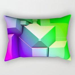 Poly Fun 3A Rectangular Pillow
