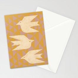Doves In Flight Stationery Cards